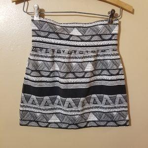 American Apparel Geometric Print Skirt Size M